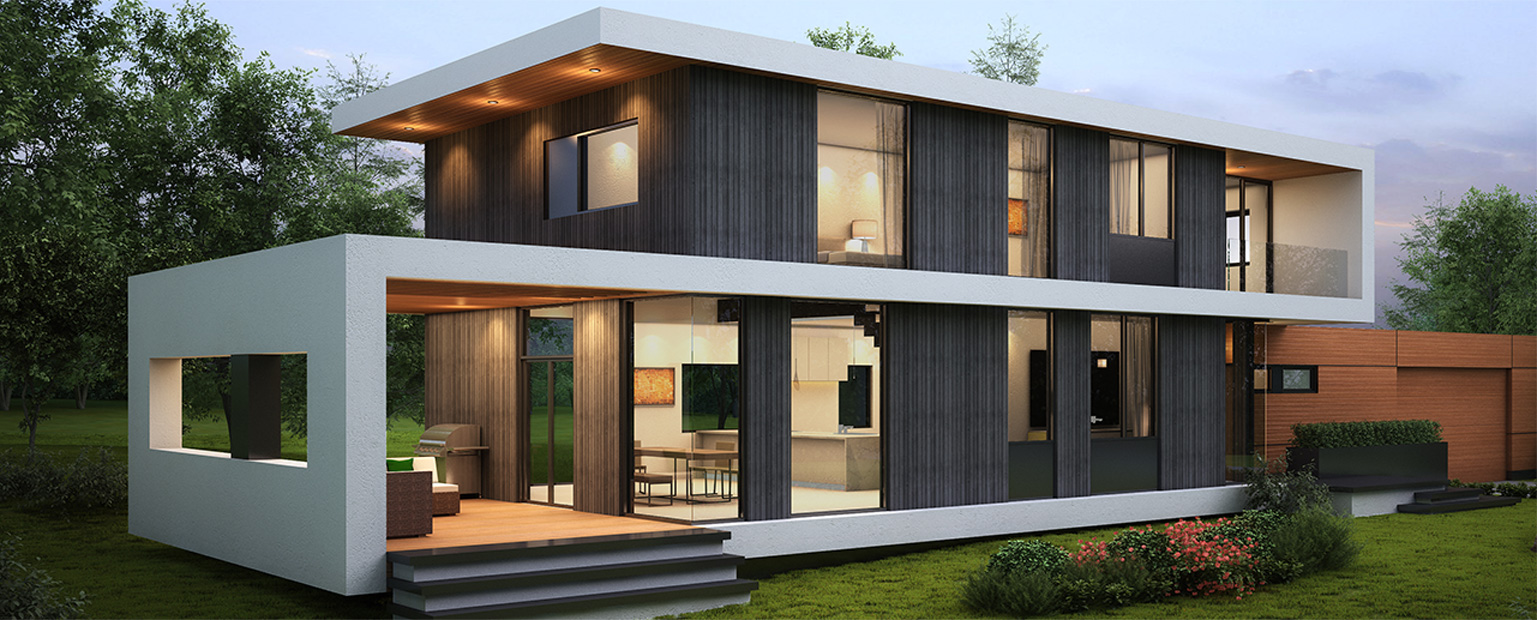 Passive House residence (under construction), Kelowna, B.C. equivalent to Step 5