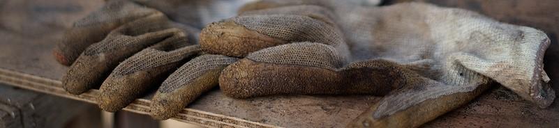 Image of work gloves