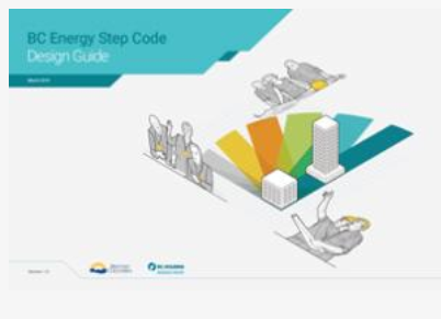 Image of the cover of the BC Energy Step Code Design Guide