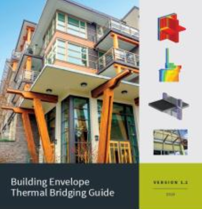 Cover image of the Building Envelope Thermal Bridging Guide