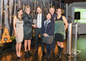 Energy Step Code Council representatives receiving the award.