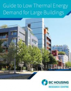 Image of the cover of the Guide to Low Thermal Energy Demand